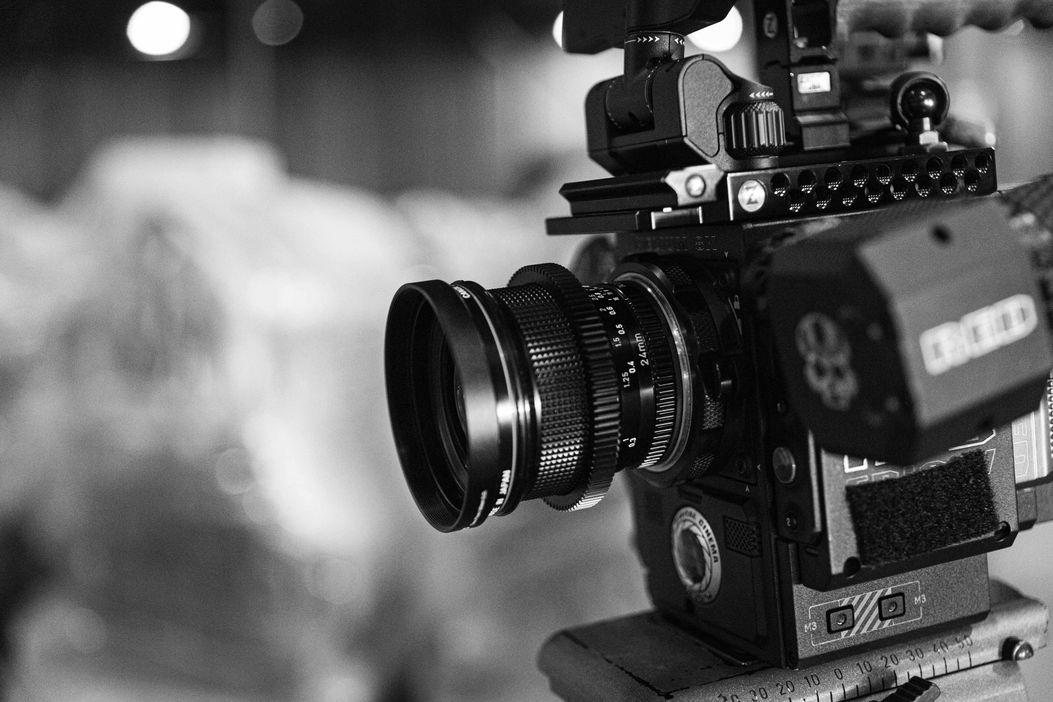Video interviews camera
