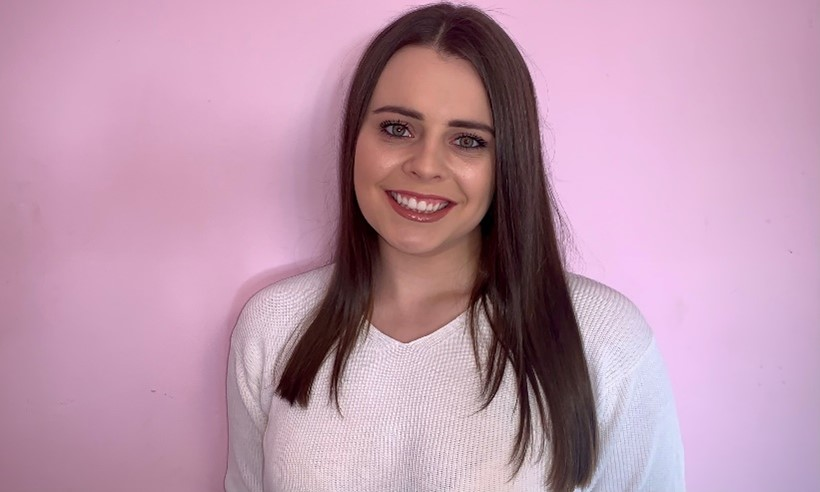 Charlie secured her internship with Procter & Gamble