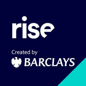 Rise, created by Barclays logo