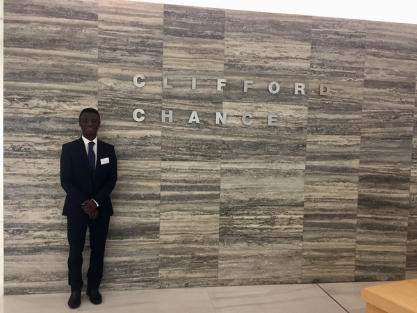 Bright Network member, Adeyemi