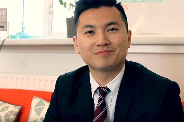 Bright Network member, Zhengda