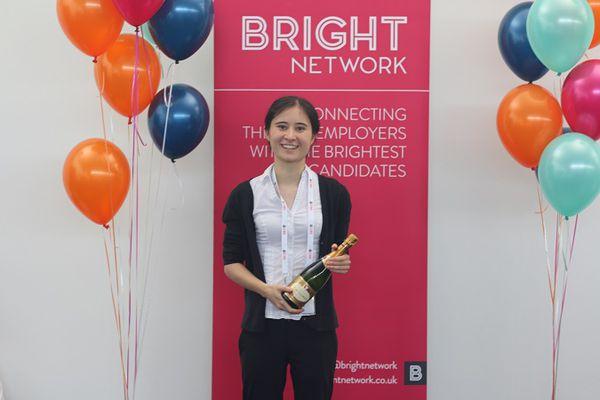 Bright Network member, Emily