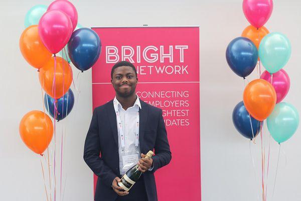 Bright Network member, Femi