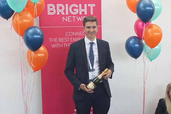 Bright Network member, George