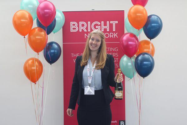 Bright Network member, Katherine