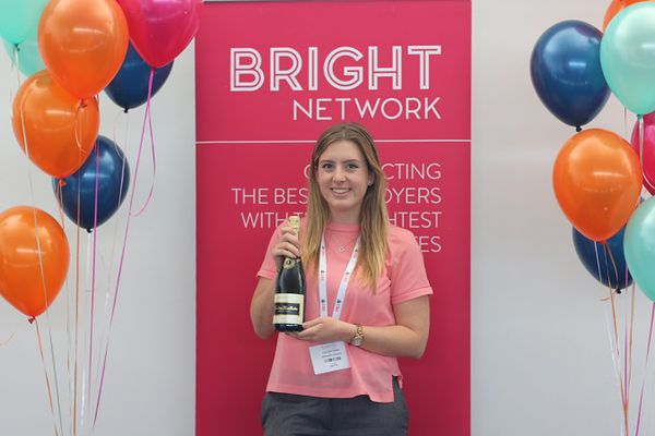 Bright Network member, Lucy