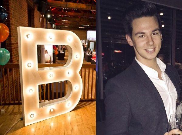 Bright Network member, Mateusz