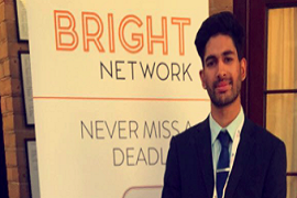 Bright Network member, Reyhan