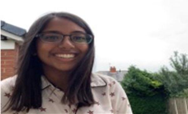Bright Network member, Bhavika