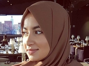 Bright Network member, Nusaybah
