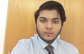 Bright Network member, Saad